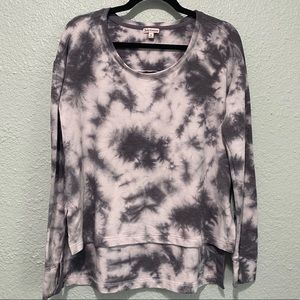 Juicy Couture Purple Tie Dye Oversized Pullover